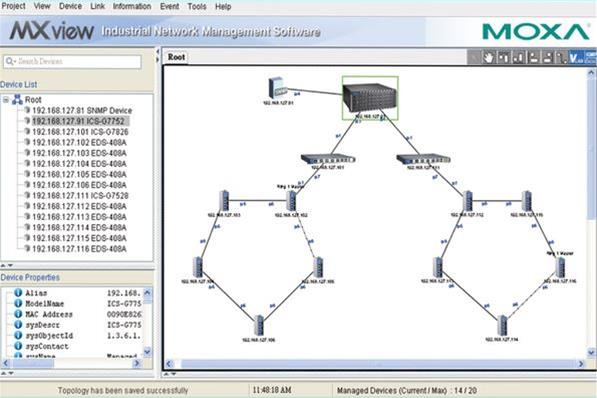 Industrial Network Management · Info · Impulse Embedded Limited