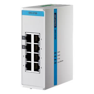 EKI-3728 Unmanaged Industrial Ethernet Switch