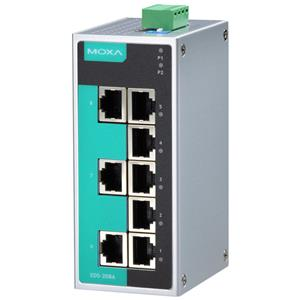 EDS-208A Unmanaged Industrial Ethernet Switch