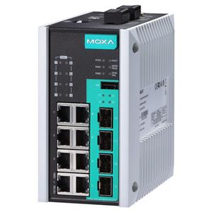EDS-G512E-8PoE Managed POE Gigabit Ethernet Switch