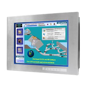 FPM-8151H Stainless Steel IP65 Panel-mount LCD