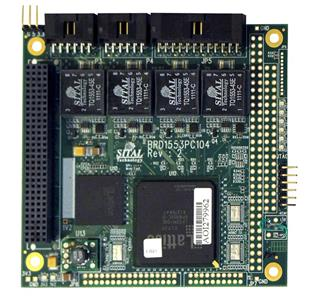 BRD1553PC104-STD MIL STD PC 104 Board