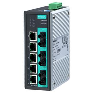 EDS-408A-3S-SC-48 Managed Industrial Ethernet Switch