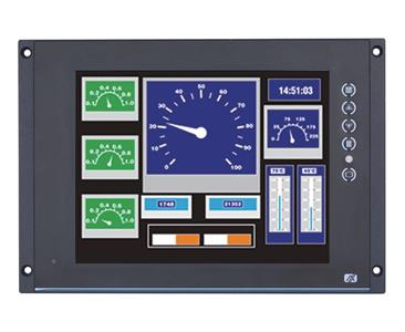 P6105 EN50155 Rail LCD Touch Display