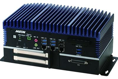 BOXER-6839 Fanless embedded PC