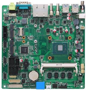 MANO311 industrial mini-ITX motherboard