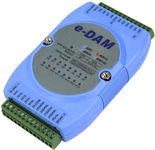 EDAM-8051D RS-485 isolated digital input module