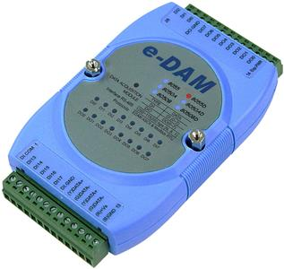 EDAM-8055D RS-485 isolated digital IO module