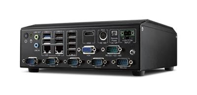 AiMC-2000 Front IO Access Fanless PC