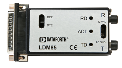 LDM85 Serial to Fibre Optic Modem