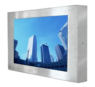 R19L300-65A2-1 Full IP65 Stainless Steel Display
