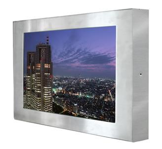 W22L100-65A3 Full IP65 Stainless Steel Display