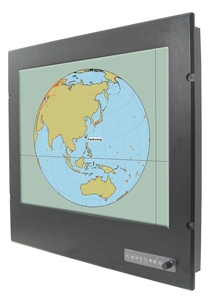 W24L100-MRA1 IP66 Panel-mount LCD Display